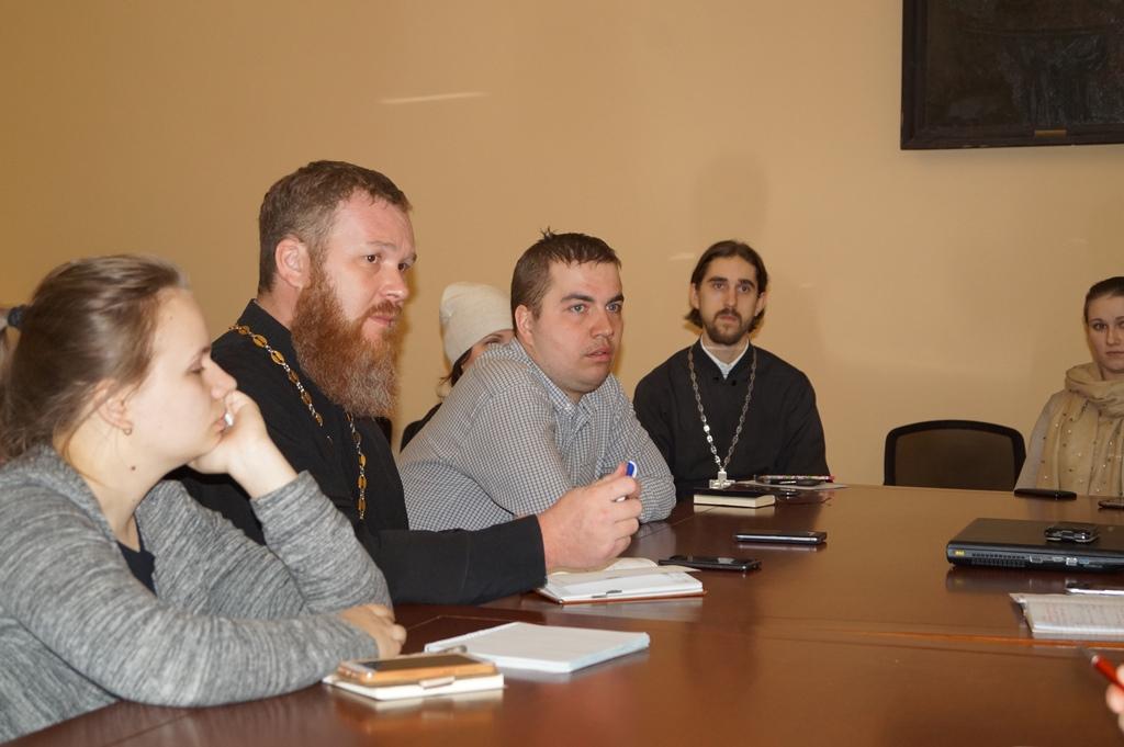 В Пензенском епархиальном управлении прошла коллегия отдела по делам молодежи