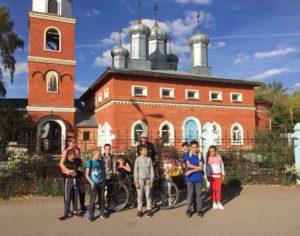 Воспитанники городищенской воскресной школы «Восход» приняли участие в приходском спортивном мероприятии